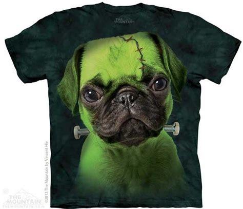 the mountain pug shirt the mountain franken pug puppy green t shirt m l xl 2xl 3xl
