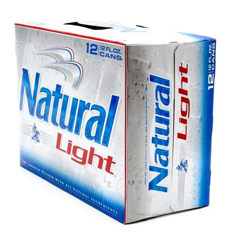12 pack of natural light price natural light beer 12oz can 12 pack beer wine and
