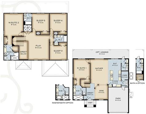 park square homes floor plans gurus floor