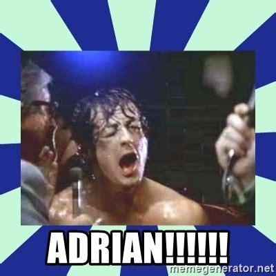 Adrian Meme - adrian rocky balboa meme generator
