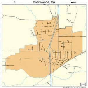 cottonwood california map 0616630