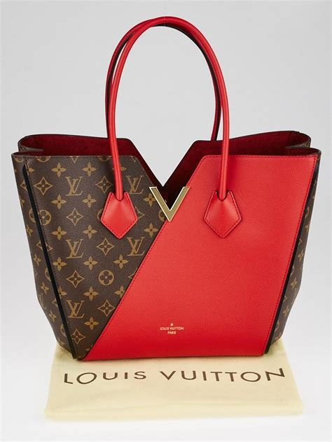 louis vuitton monogram canvas  cerise leather kimono