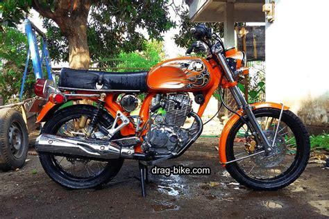 Gambar Motor Yang Bagus by 50 Foto Gambar Modifikasi Honda Cb 100 Klasik Style
