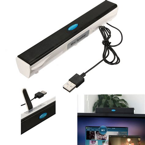 Speaker Komputer Usb Speaker Kotak Pc usb mini bar speaker player pc laptop notebook