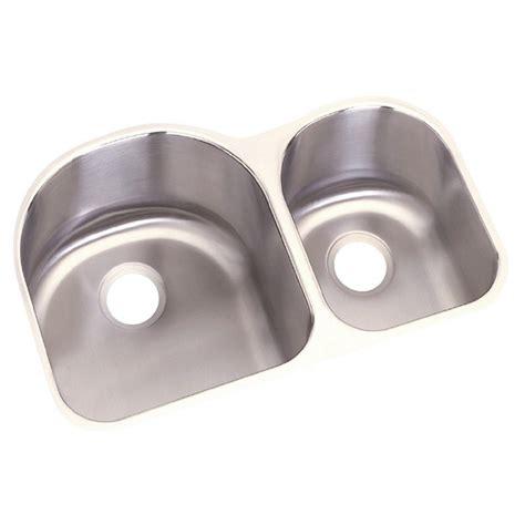 dayton bowl kitchen sink elkay dayton undermount stainless steel 31 in bowl