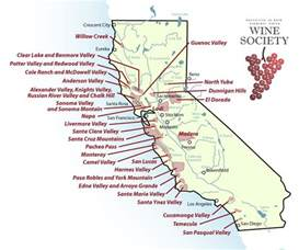 california wine growing regions map california wine guide wine 101 country