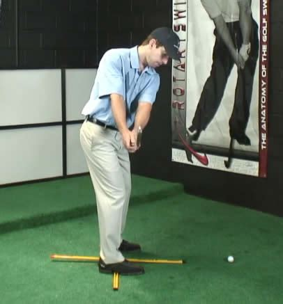 staying on plane golf swing 4 square drill for an on plane golf takeaway and backswing