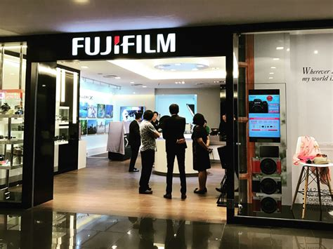 fuji store fujifilm opens new singapore store for all your