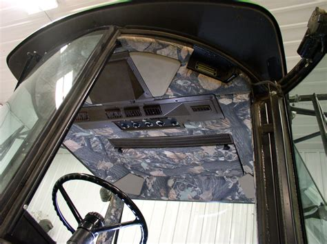 tractor interior upholstery camouflage cab kits a new option to personalize your