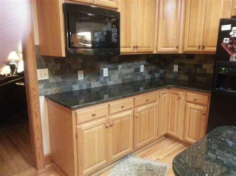 80 Best Images About Granite Medium Colored Wood Cabinets Backsplash For Uba Tuba Granite Countertops