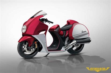 ilginc vespa konseptleri motorcularcom