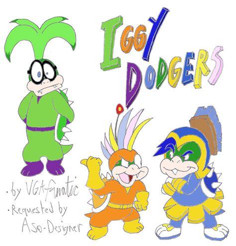 iggy dodgers promo  vgafanatic  deviantart