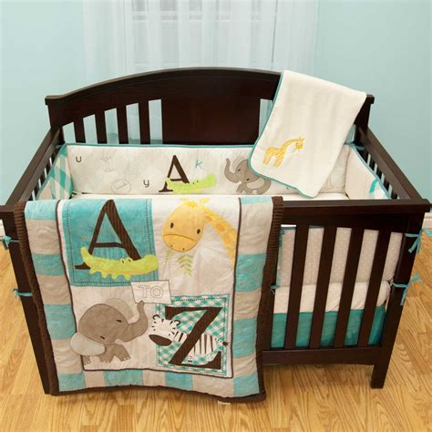 babys bed babys first a to z crib bedding collection baby bedding