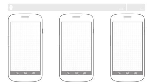 android templates 안드로이드 스케치 템플릿 nam insik portfolio site