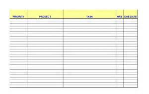 list template 50 printable to do list checklist templates excel word