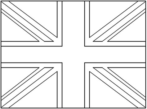 union jack free colouring pages