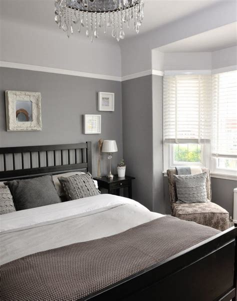 grey painted rooms creative ways to make your small bedroom look bigger hative