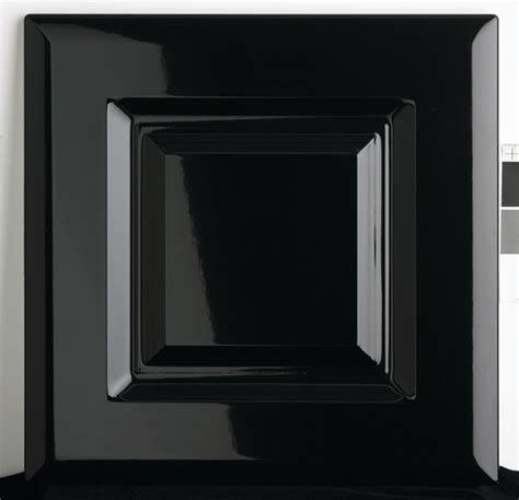Black Gloss Kitchen Cabinets High Gloss Black