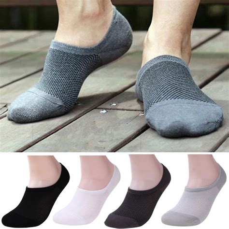 no show socks for loafers 1pairs bamboo ankle invisible loafer boat liner