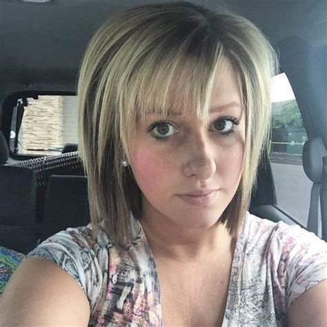 layered bob at crown hairstyle pic 20 banging blonde bobs