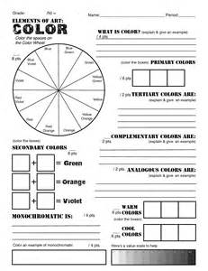 which statement about color theory is true elements of color worksheets color wheels and wheels