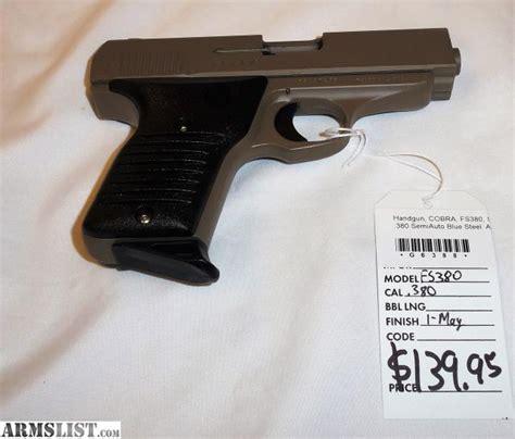 Cobra 380 Auto Pistol by Armslist For Sale Cobra Fs380 380 Acp Pistol