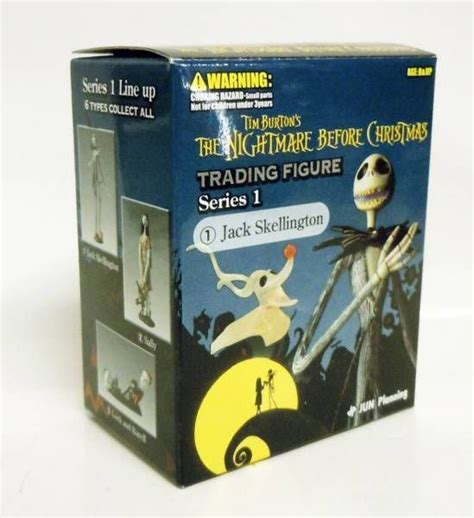 The Nightmare Before Trading Figure Series 1 Set Of 6 Brand the nightmare before jun planning trading
