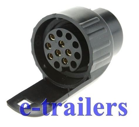 7 pin to 13 pin adapter converter trailer caravan