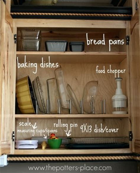 the potter s place organize your baking dishes so easy