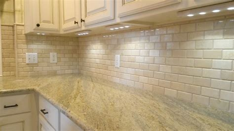 beveled tile backsplash kitchen backsplash 2 quot x 4 quot crema marfil beveled subway