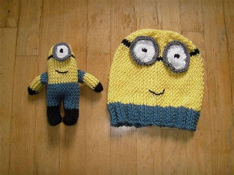 free knitting patterns minions ravelry minion hat and pattern by beth a ferwerda