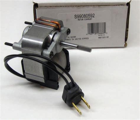 nutone exhaust fan motor s99080592 broan nutone vent fan motor jesp 61k25 99080592