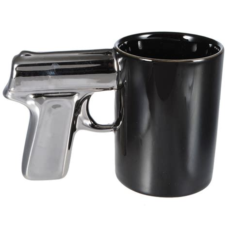 coffee mug handle buy creative plating handle pistol mark cup ceramic coffee