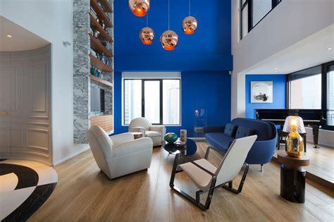 design milk studio blue penthouse by dariel studio design milk