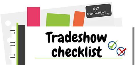 trade show checklist and marketing tips jyler trade show checklist