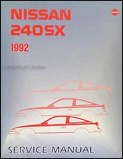 hayes auto repair manual 1992 nissan 240sx electronic valve timing 1992 nissan 240sx repair shop manual original