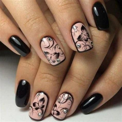 imagenes de uñas pintadas de vinotinto unghie gel con brillantini sparsi anulare medio fondo rosa