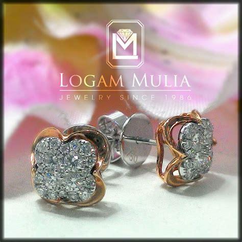 Anting Blue Saphire Cincin Gelang Kalung Anting Import Korea Xuping jual anting anting berlian wanita ara e202033 sdsn logammuliajewelry