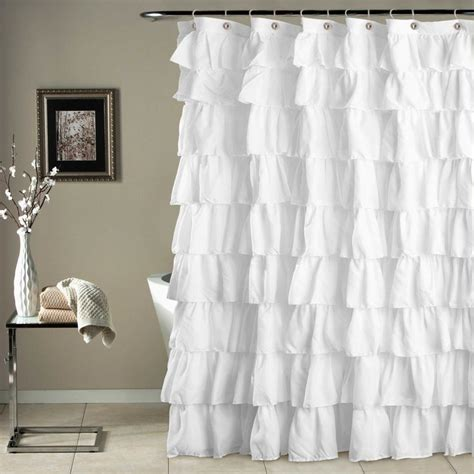 Feminine Shower Curtains Best 25 White Lace Curtains Ideas On Lace Curtains Curtain Inspiration And Net