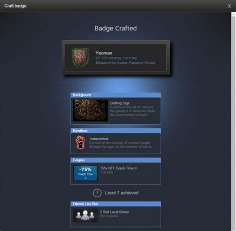 steam card template update of the avatar 102 2014 12 05 sota trading cards