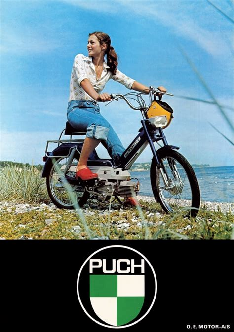 Original Al Maxi 2 puch plakat puch maxi ii gear genoptryk af original plakat