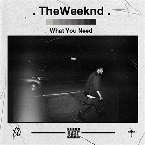 House Of Balloons Lyrics by The Weeknd What You Need