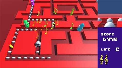 game design georgia tech note chomper screenshot 1 by levi d smith cartrdge