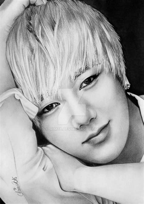 Kpop Drawing by Yesung Of Junior Kpop By Mim78 On Deviantart