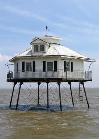 mobile bay middle bay lighthouse alabama at