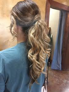 dressy ponytail hairstyles 25 best ideas about formal ponytail on pinterest