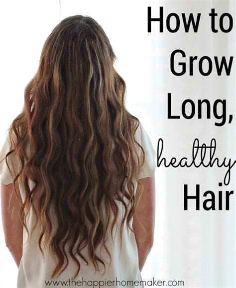 How To Grow Long Hair If You Are A Black Female Wikihow | tips for growing long healthy hair the happier homemaker