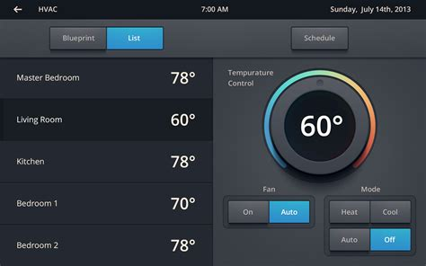 cipriano projects home automation ui dribbble