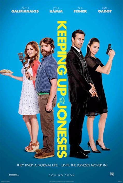 keeping up with the joneses new poster for keeping up with the joneses