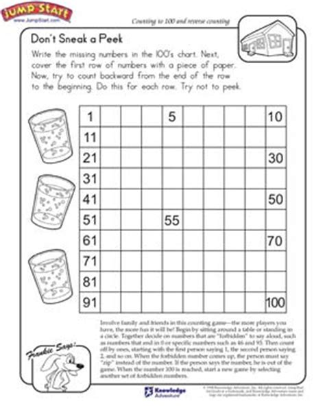 Counting Forward And Backwards Worksheets by Counting Forwards And Backwards Worksheets Year 1